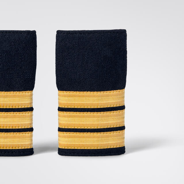 ScanEpaulets 3 gold stripes